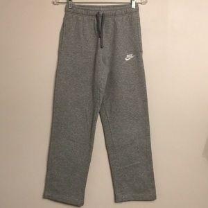 NIKE Sportswear Boy's Fleece Open Hem Pants